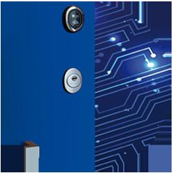 puertas de seguridad electronica
