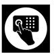 icono teclado tactil