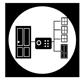 sistema electronico de seguridad para puertas