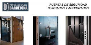 puertas de seguridad grado 3,4 y 5